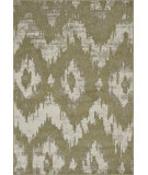RugStudio presents Loloi Jaxx Jx-07 Green / Ivory Machine Woven, Good Quality Area Rug
