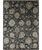 RugStudio presents Loloi Kensington Kg-07 Charcoal Hand-Knotted, Good Quality Area Rug