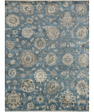 RugStudio presents Loloi Kensington Kg-07 Storm Hand-Knotted, Good Quality Area Rug