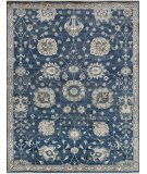 RugStudio presents Loloi Kensington Kg-08 Midnight Hand-Knotted, Good Quality Area Rug