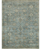 RugStudio presents Rugstudio Sample Sale 102557R Blue / Fog Hand-Knotted, Best Quality Area Rug