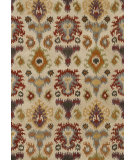 RugStudio presents Loloi Leyda Ly-02 Ivory / Multi Hand-Tufted, Better Quality Area Rug