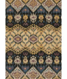 RugStudio presents Loloi Leyda Ly-03 Black / Light Gold Hand-Tufted, Better Quality Area Rug