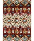 RugStudio presents Loloi Leyda Ly-03 Red / Multi Hand-Tufted, Better Quality Area Rug