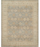 RugStudio presents Loloi Majestic Mm-10 Storm - Beige Hand-Knotted, Best Quality Area Rug