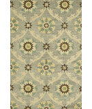 RugStudio presents Rugstudio Sample Sale 92227R Light Grey Hand-Hooked Area Rug