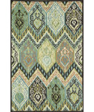 RugStudio presents Loloi Mayfield Mf-09 Multi Hand-Hooked Area Rug