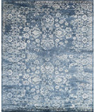 RugStudio presents Loloi Mirage Mk-01 Denim Hand-Knotted, Good Quality Area Rug