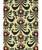RugStudio presents Loloi Milano Ml-05 Beige / Black Hand-Hooked Area Rug