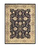 RugStudio presents Loloi Majestic MM-01 Black-Ivory Hand-Knotted, Best Quality Area Rug
