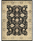 RugStudio presents Loloi Majestic Mm-01 Black / Ivory Hand-Knotted, Best Quality Area Rug