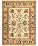 RugStudio presents Loloi Majestic Mm-02 Ivory / Gold Hand-Knotted, Best Quality Area Rug