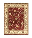 RugStudio presents Loloi Majestic MM-04 Red-Ivory Hand-Knotted, Best Quality Area Rug