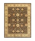 RugStudio presents Loloi Majestic MM-05 Chocolate-Gold Hand-Knotted, Best Quality Area Rug