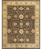 RugStudio presents Loloi Majestic Mm-05 Chocolate / Gold Hand-Knotted, Best Quality Area Rug
