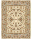 RugStudio presents Rugstudio Sample Sale 92216R Ivory / Blue Hand-Knotted, Best Quality Area Rug
