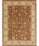 RugStudio presents Loloi Majestic Mm-07 Rust / Ivory Hand-Knotted, Best Quality Area Rug