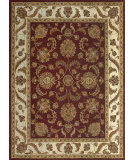 RugStudio presents Rugstudio Sample Sale 68406R Fireweed / Beige Hand-Tufted, Best Quality Area Rug