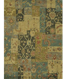 RugStudio presents Rugstudio Sample Sale 68412R Blue / Green Hand-Tufted, Best Quality Area Rug