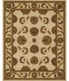 RugStudio presents Loloi Maple Maplmp-55 Ivory / Cream Hand-Tufted, Good Quality Area Rug