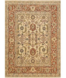RugStudio presents Loloi Morrow Mw-02 Ivory / Rust Hand-Knotted, Best Quality Area Rug