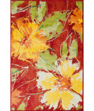 RugStudio presents Loloi Madeline Mz-05 Hibiscus Machine Woven, Good Quality Area Rug