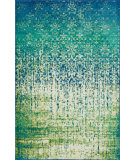 RugStudio presents Loloi Madeline Mz-07 Blue Cascade Machine Woven, Good Quality Area Rug