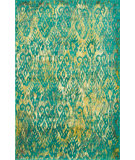 RugStudio presents Loloi Madeline Mz-09 Lagoon Machine Woven, Good Quality Area Rug