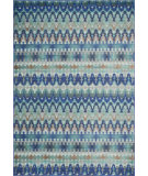 RugStudio presents Loloi Madeline MZ-14 Blue / Multi Machine Woven, Good Quality Area Rug