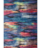 RugStudio presents Loloi Madeline MZ-16 Peacock Machine Woven, Good Quality Area Rug