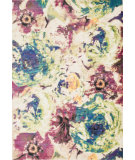 RugStudio presents Loloi Madeline MZ-17 Magenta / Multi Machine Woven, Good Quality Area Rug
