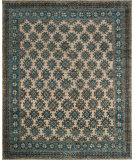 RugStudio presents Loloi Nomad Nm-01 Beige - Ocean Hand-Knotted, Best Quality Area Rug
