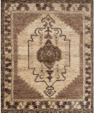 RugStudio presents Loloi Nomad Nm-02 Mocha - Beige Hand-Knotted, Best Quality Area Rug