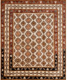 RugStudio presents Loloi Nomad Nm-04 Beige - Beige Hand-Knotted, Best Quality Area Rug