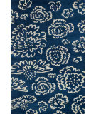 RugStudio presents Loloi Nova Nov0nv-06 Navy / Ivory Woven Area Rug