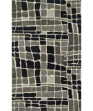 RugStudio presents Loloi Nova Nov0nv-01 Grey / Black Woven Area Rug