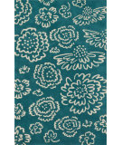 RugStudio presents Loloi Nova NV-06 Teal / Ivory Woven Area Rug