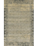 RugStudio presents Rugstudio Sample Sale 92263R Ivory / Charcoal Machine Woven, Good Quality Area Rug