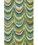 RugStudio presents Loloi Olivia Olvahol01 Green / Blue Area Rug