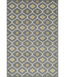 RugStudio presents Loloi Oasis Os-03 Grey / Citron Machine Woven, Better Quality Area Rug