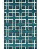 RugStudio presents Loloi Oasis Os-05 Peacock / Ivory Machine Woven, Better Quality Area Rug