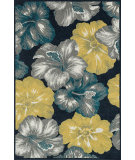 RugStudio presents Loloi Oasis Os-07 Navy / Multi Machine Woven, Better Quality Area Rug
