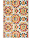 RugStudio presents Loloi Oasis Oasios-11 Red / Multi Machine Woven, Better Quality Area Rug