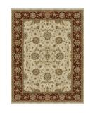 RugStudio presents Loloi Oxford OX-01 Ivory Red Machine Woven, Best Quality Area Rug