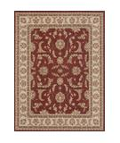 RugStudio presents Loloi Oxford OX-03 Red Ivory Machine Woven, Best Quality Area Rug