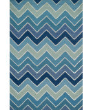 RugStudio presents Loloi Panache Pc-14 Blue - Multi Hand-Tufted, Good Quality Area Rug