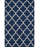 RugStudio presents Loloi Panache Pc-01 Navy / Silver Hand-Hooked Area Rug