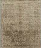 RugStudio presents Loloi Pearl Pu-01 Desert - Brown Hand-Knotted, Good Quality Area Rug