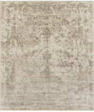 RugStudio presents Loloi Pearl Pu-01 Heather Gray - Storm Hand-Knotted, Good Quality Area Rug