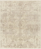 RugStudio presents Loloi Pearl Pu-03 Antique Ivory - Taupe Hand-Knotted, Good Quality Area Rug